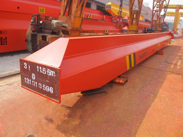 Nigeria Customer Purchase Single Girder Overhead Crane