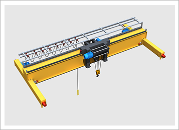 single girder gantry crane-1