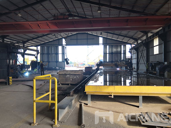 25ton-Double-Girder-Overhead-Crane-Installed-in-Indonesia-5