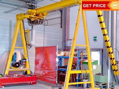 Electric Gantry Crane for Outdoor Construction