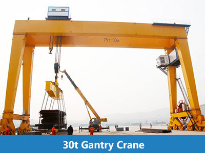 double girder gantry crane from reliable supplier