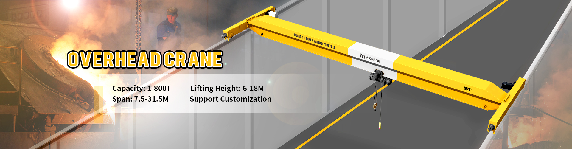overhead crane and gantry crane manufactruer