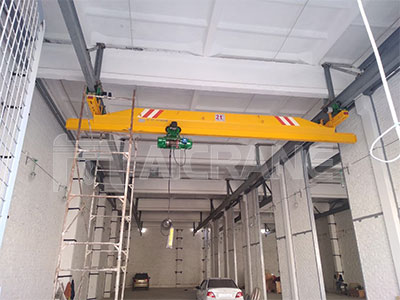 2ton-overhead-crane-in-Uzberkistan-for-sale